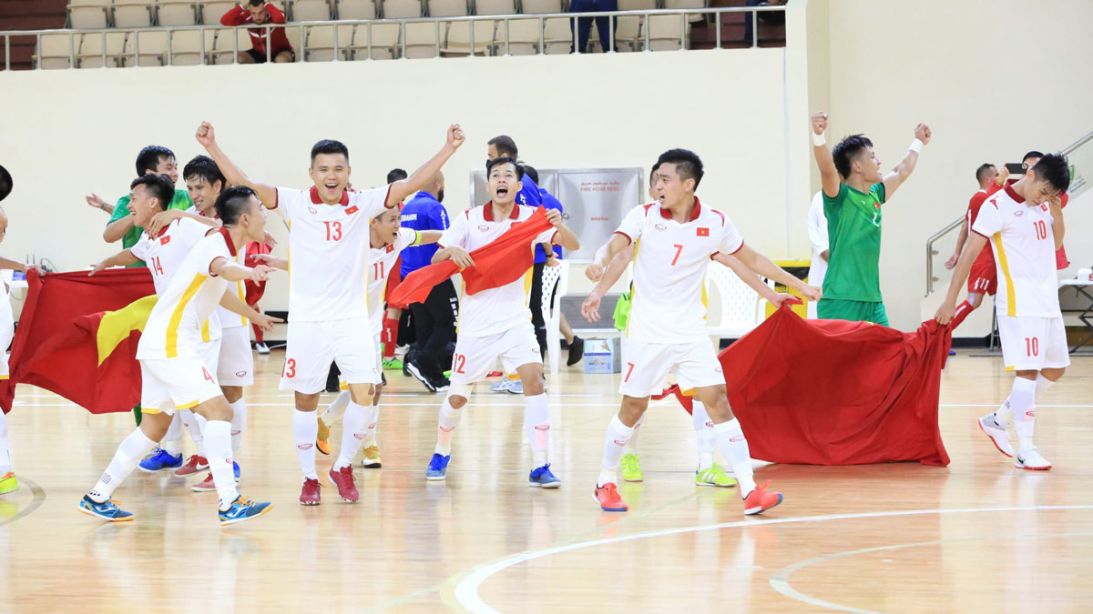 'Futsal Việt Nam và Thái Lan là niềm tự hào ASEAN'