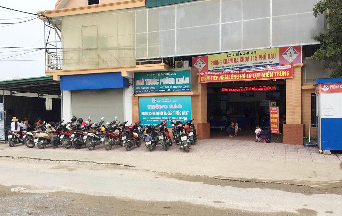 Phòng khám Phú Hậu ở Nghệ An từ chối tiếp nhận bệnh nhân