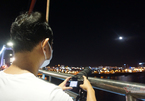 Photos of super blood moon eclipse in Vietnam