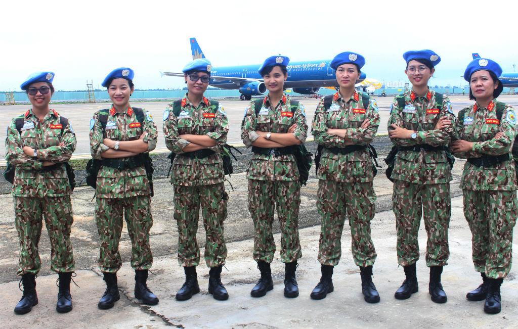 7 năm gìn giữ hòa bình: Công binh, quân cảnh sẵn sàng triển khai