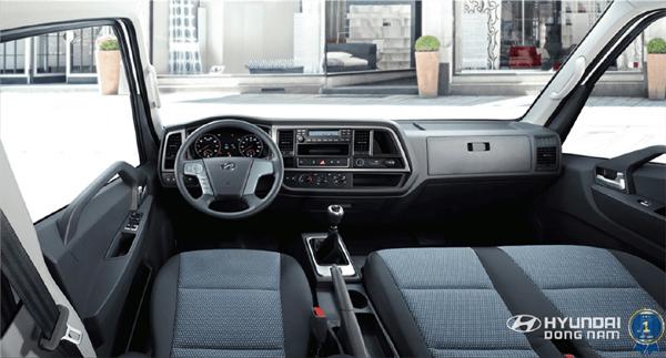 Hyundai Đông Nam phân phối xe tải Mighty EX6 bản cao cấp