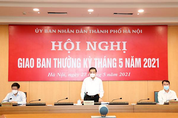 Ông Chu Ngọc Anh: Hà Nội phải thần tốc hơn nữa để sớm khống chế dịch Covid-19
