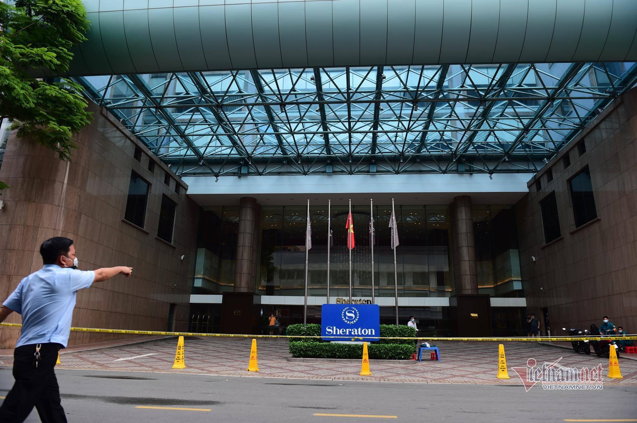 TP.HCM phong tỏa tạm thời khách sạn Sheraton