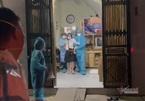 Bắc Giang cưỡng chế một phụ nữ cố thủ trên tầng ba trốn cách ly