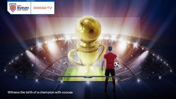coocaa TV tài trợ Giải bóng đá AFF Suzuki Cup