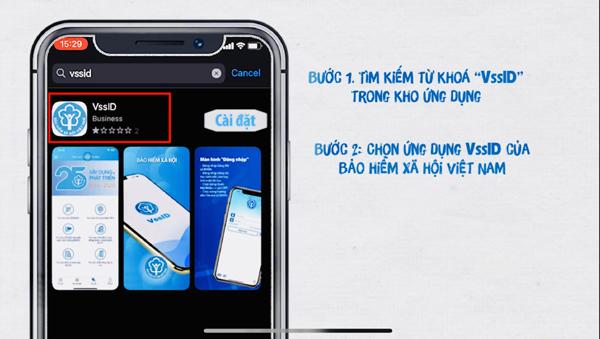 Nhiều tiện ích cho người dùng ứng dụng VssID - BHXH số