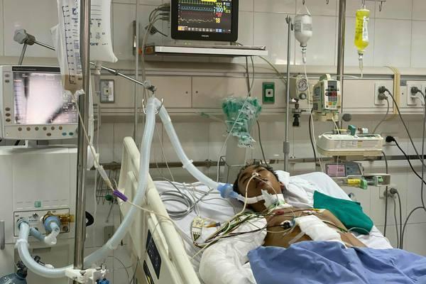 Nam thanh niên hiếu thảo nguy kịch vì suy thận, vỡ gan