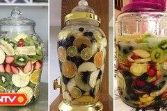 Cẩn trọng với những loại nước hoa quả chưng đường phèn