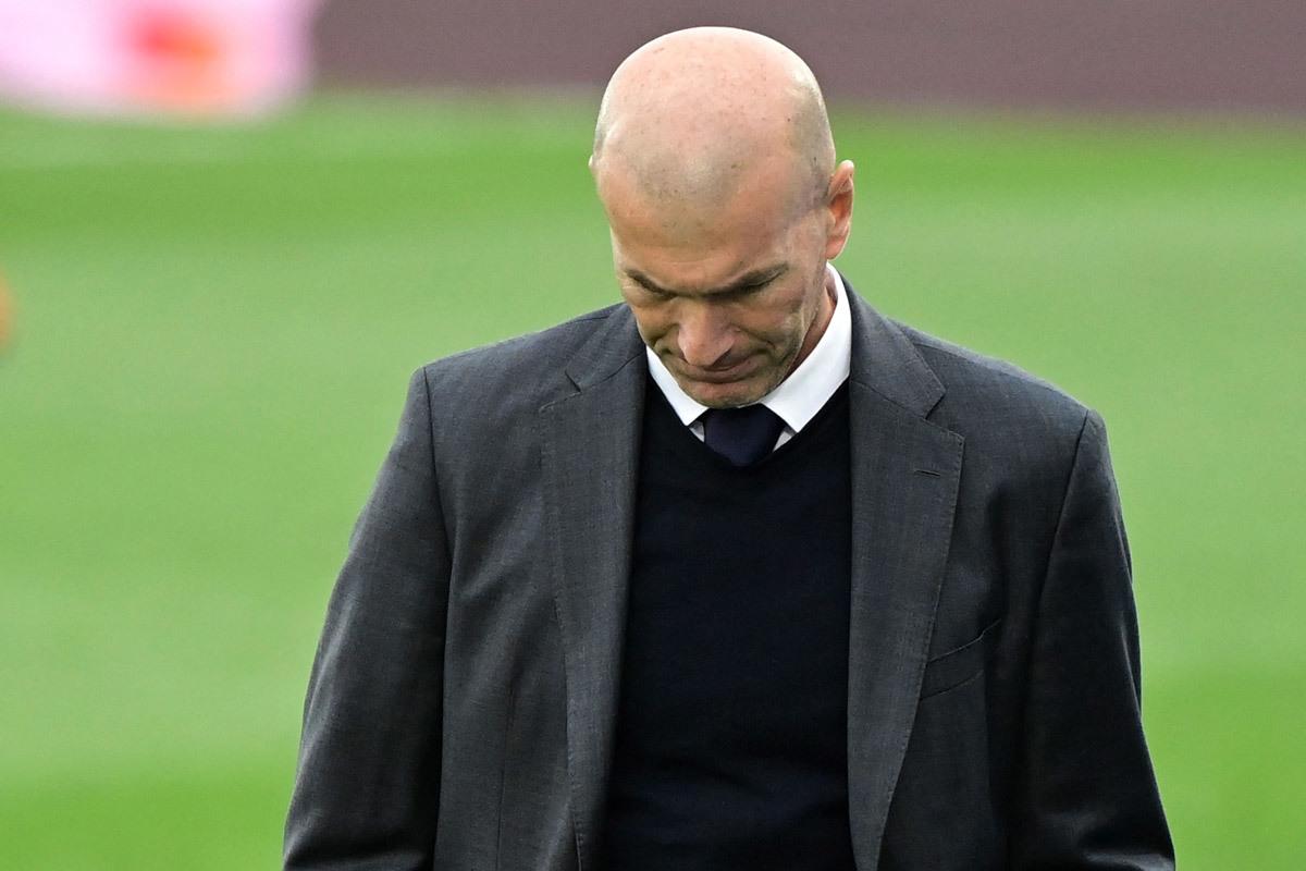 HLV Zidane thông báo rời Real Madrid