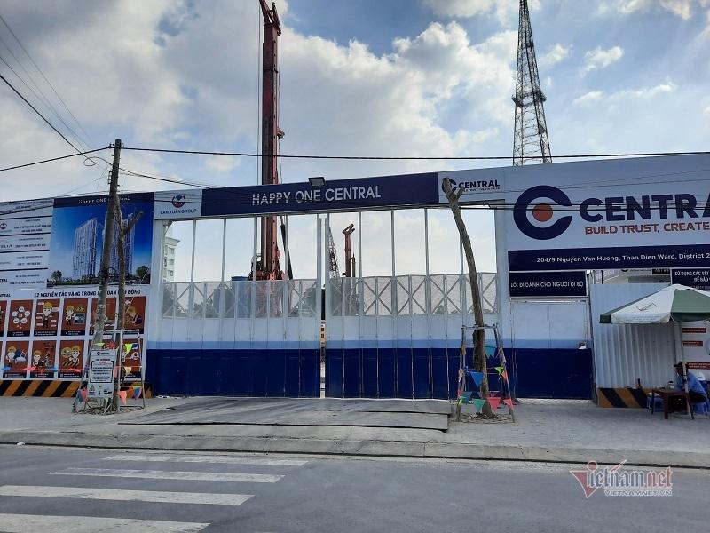 Công trình cao nhất Bình Dương đục tường Đài truyền hình, nối ống thoát nước vào khu dân cư