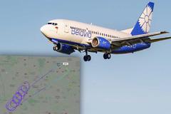 Máy bay khách của Belarus phải quay đầu vì bị Pháp cấm cửa