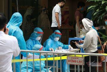 Cả ngày 30/7, Hà Nội có 119 ca dương tính SARS-CoV-2