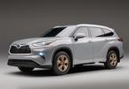 Toyota Highlander 2022 có thêm phiên bản vàng đồng