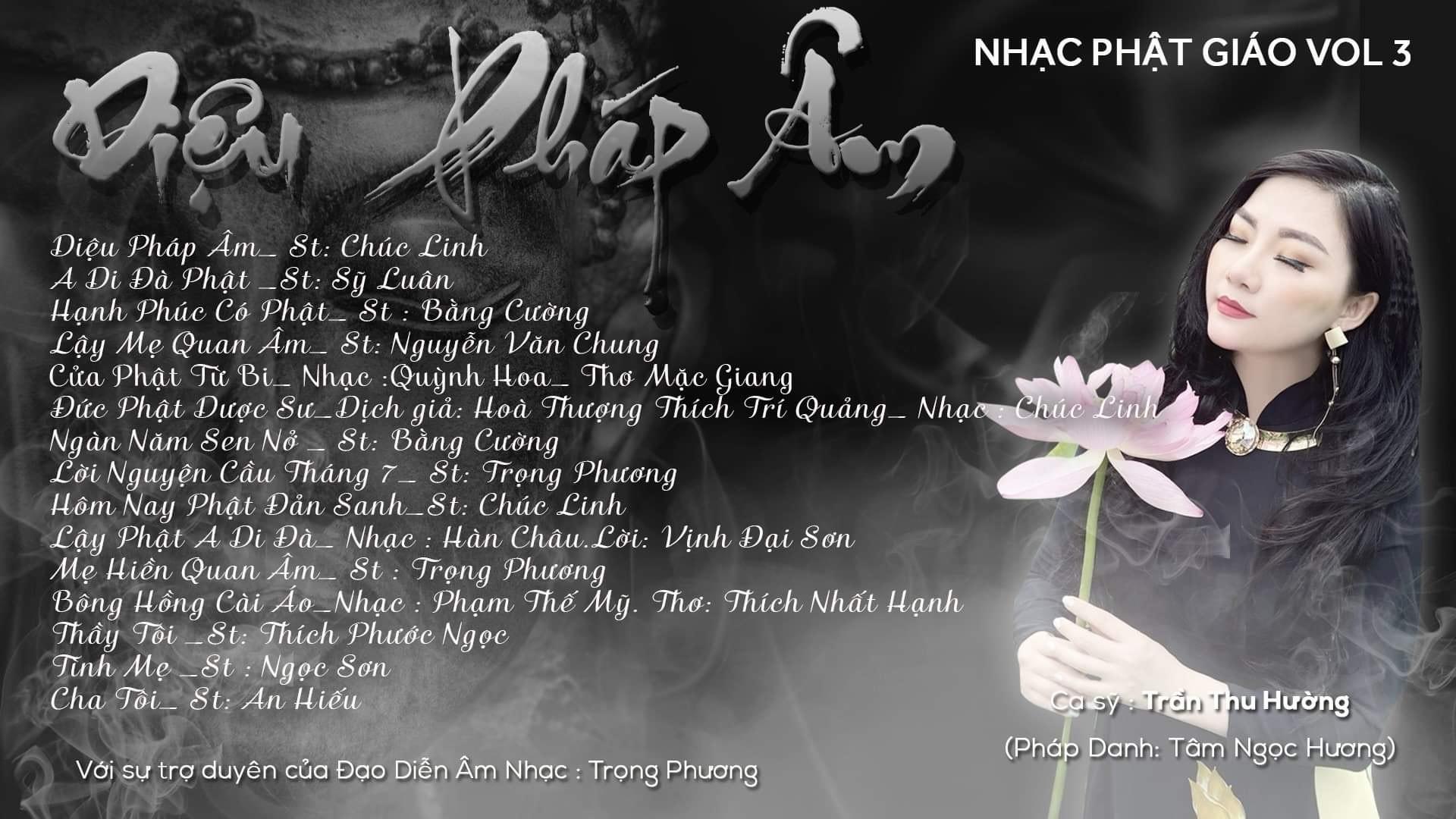 Sao Mai Thu Hường ra mắt album nhạc Phật