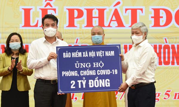 BHXH Việt Nam ủng hộ 2 tỷ đồng phòng chống dịch Covid-19
