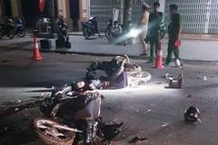 Hai xe máy tông trực diện, 2 người tử vong ở Thanh Hóa