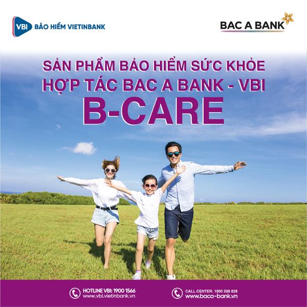 Bac A Bank phân phối bảo hiểm phi nhân thọ của VBI