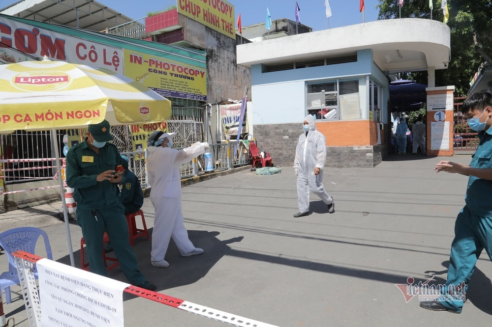 Phong tỏa tạm thời Bệnh viện quận Tân Phú