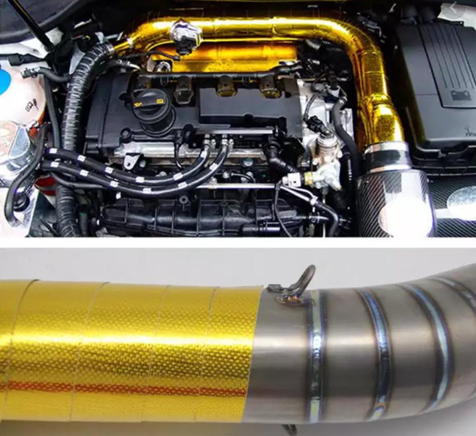 Có nên bọc cách nhiệt cổ ống xả ô tô để chống cháy?