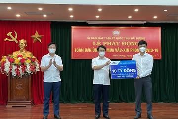 Quỹ vắc xin phòng Covid-19 tỉnh Hải Dương có 70 tỷ đồng