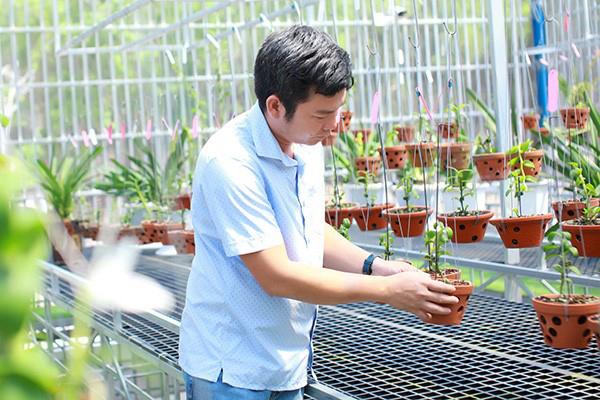 Tình yêu đặc biệt của ông chủ vườn lan hàng nghìn chậu