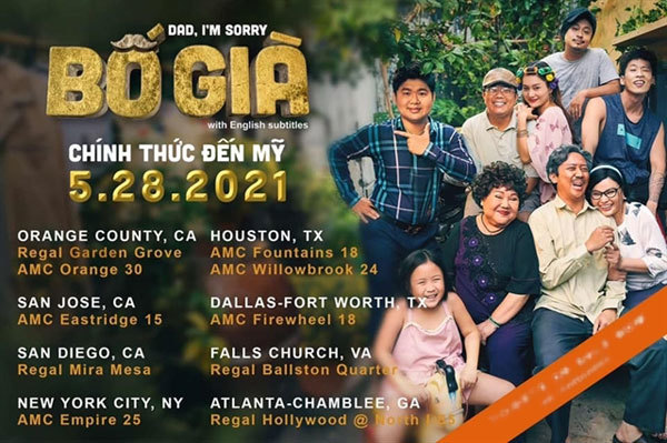 Vietnamese film to be released in the US, Australia
