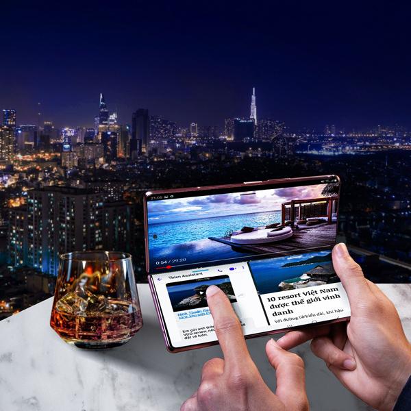 Samsung giữ 'ngôi vương' thị trường smartphone màn hình gập
