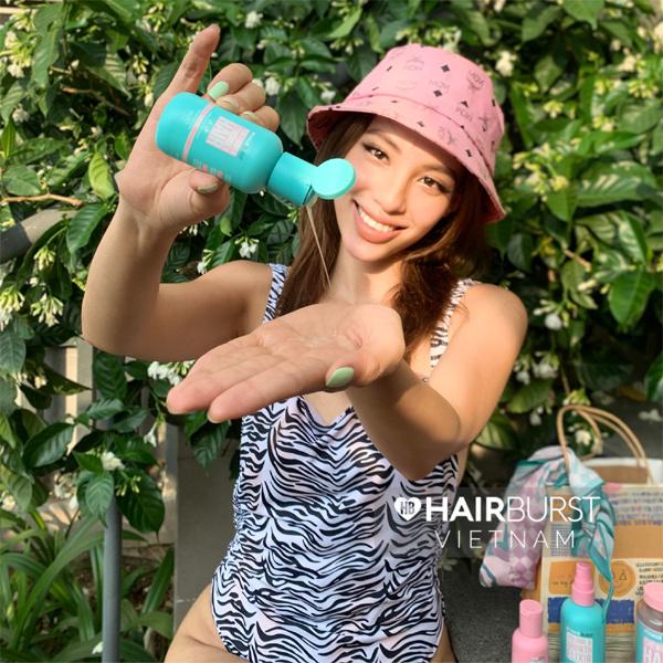 Hairburst-Bí quyết chăm sóc mái tóc khô xơ mùa nóng