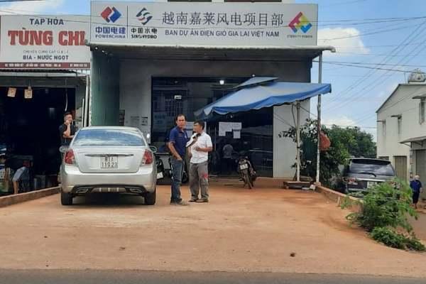 Cả trăm người Trung Quốc làm việc không phép tại dự án điện gió ở Tây Nguyên
