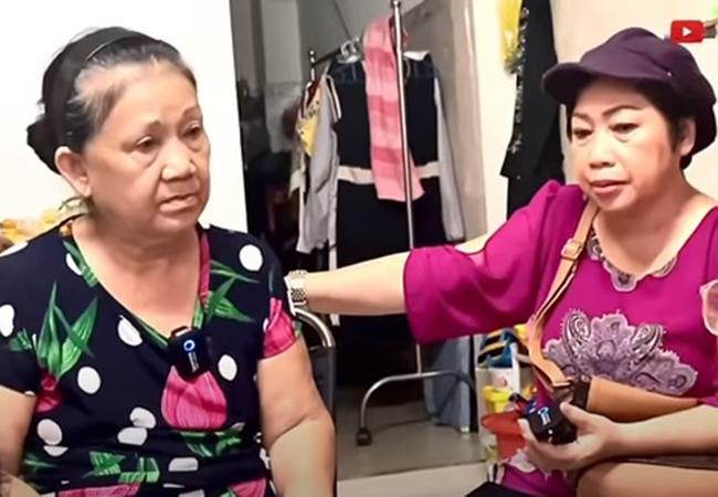 Nghệ sĩ Diễm Trinh 67 tuổi sức khỏe sa sút, khóc vì nhớ nghề