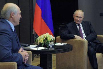 Tổng thống Putin ủng hộ Belarus đối đầu với phương Tây