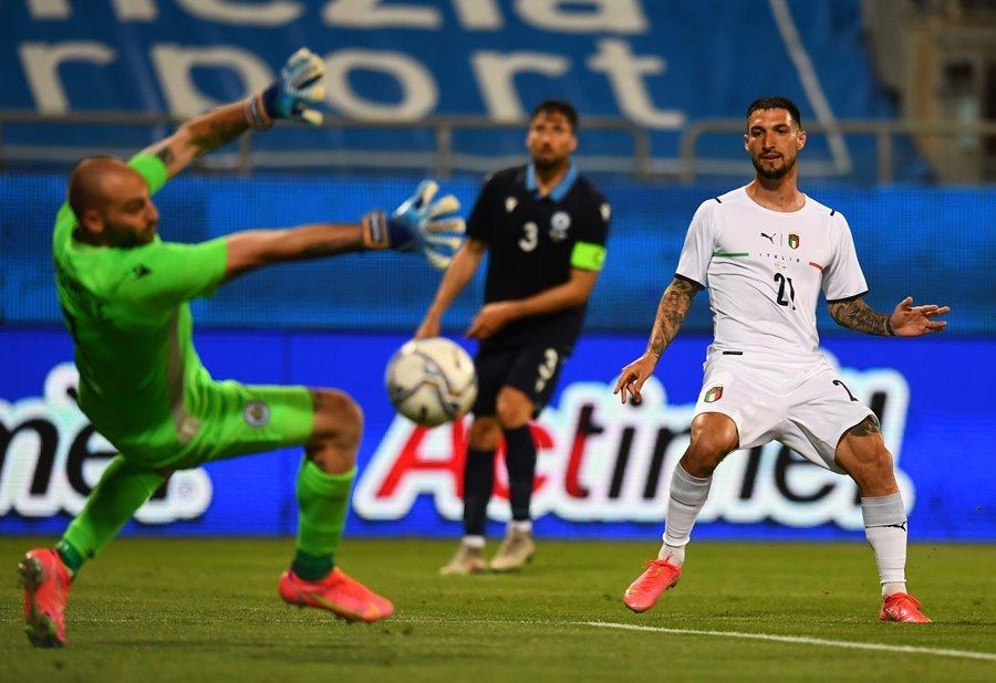 Italy thắng 7-0 ở trận giao hữu trước thềm EURO
