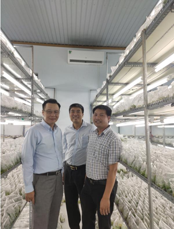 Chủ vườn Gia Lai mở phòng thí nghiệm bảo tồn giống lan rừng