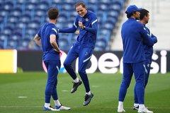 Thầy trò Tuchel cười tít mắt trước chung kết Champions League