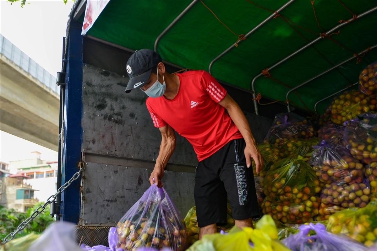 Vải Bắc Giang vượt 'vòng vây' về Hà Nội, dân gọi nhau giải cứu