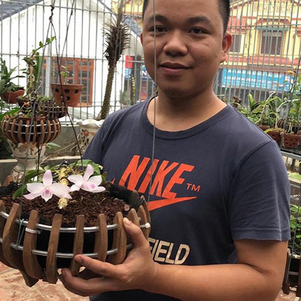 'Công thức' chăm sóc lan đặc biệt của 9x Thanh Hóa