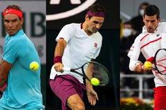 Djokovic, Federer và Nadal cùng nhánh đấu ở Roland Garros 2021