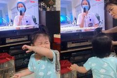 Nữ bác sĩ chống dịch ở Bắc Giang: Con gái thấy mẹ trên tivi, òa khóc đòi bế
