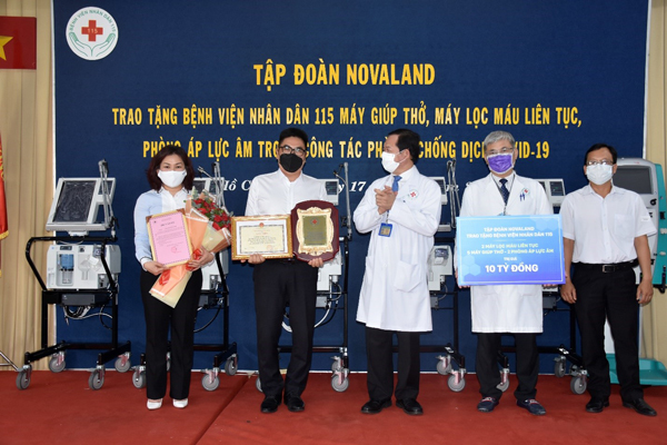 Novaland chung tay đẩy lùi dịch bệnh Covid-19