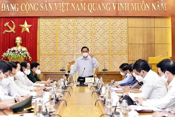 Bắc Giang đề nghị Thủ tướng hỗ trợ khẩn cấp 500 tỷ đồng ứng phó với Covid-19