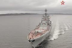 Xem chiến hạm hạt nhân Nga diễn tập trên biển