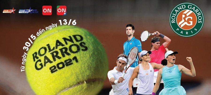Lịch thi đấu đơn nam Roland Garros 2021