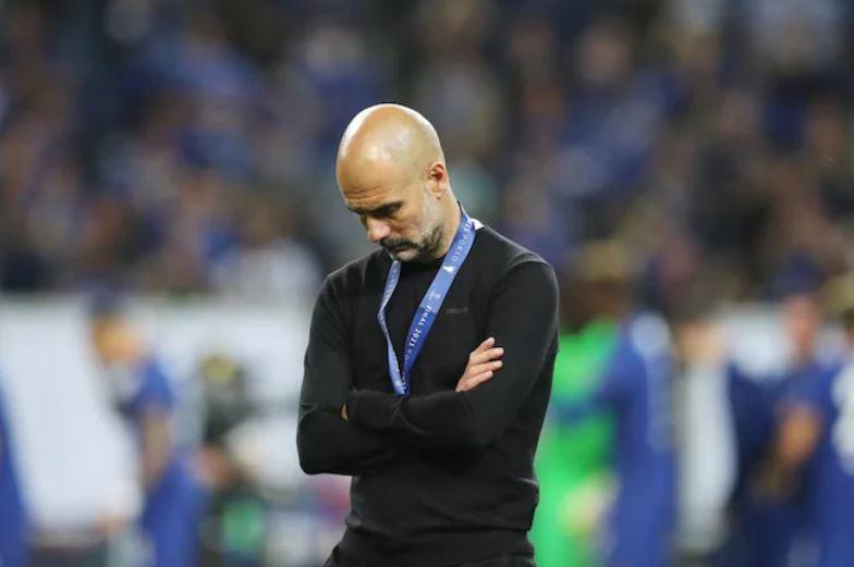HLV Pep Guardiola và học trò buồn tê tái khi lỡ ngôi vương C1