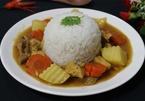 Làm cà ri gà chuẩn Nhật Bản cho bữa trưa cuối tuần