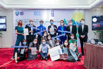 Vietnam youth submits climate action for COP26