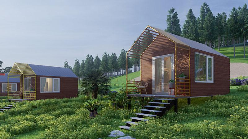 Kiến trúc sư biến mảnh đất ở quê thành 'khu resort tại gia'