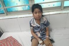 Em Chu Thị Ngọc bị ung thư mang tai được ủng hộ hơn 57 triệu đồng