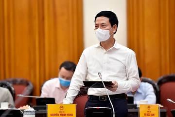 Bộ trưởng Nguyễn Mạnh Hùng nói về phòng chống Covid-19 trong bối cảnh mới