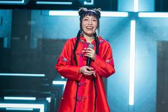 Mỹ Anh - con gái Mỹ Linh khiến Khắc Hưng bật khóc