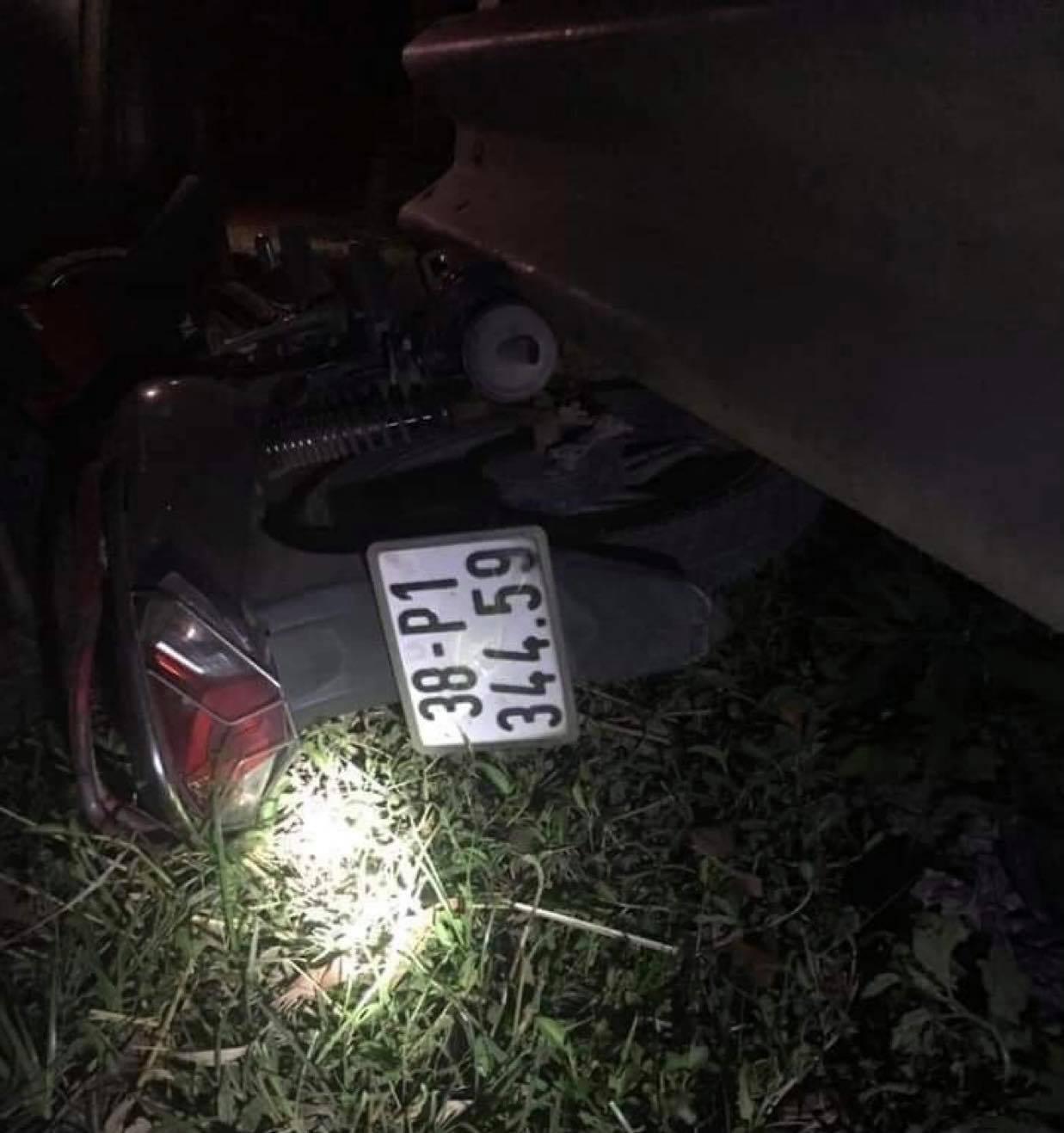 Xe container mất lái, cán nam sinh lớp 12 tử vong ở Hà Tĩnh